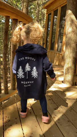 The Norway: Toddler Zip Hoodie