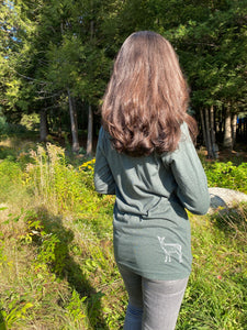 Three Pines Adult Long Sleeve: The Deer
