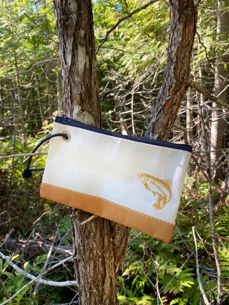 Three Pines Sea Bags® Wristlet: The Trout