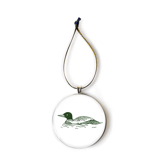 The Woods Maine Keepsake Ornament: The Loon