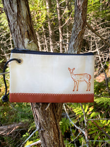 Three Pines Collection Sea Bags® Wristlet: The Deer
