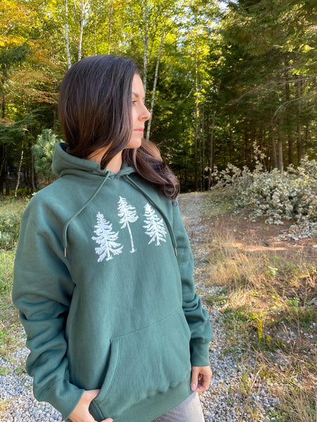 Three Pines Heavy Hoodie: The Fox