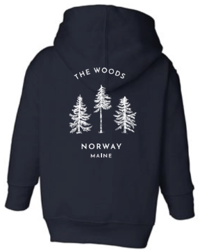Norway Youth Zip Up Lightweight Hoodie