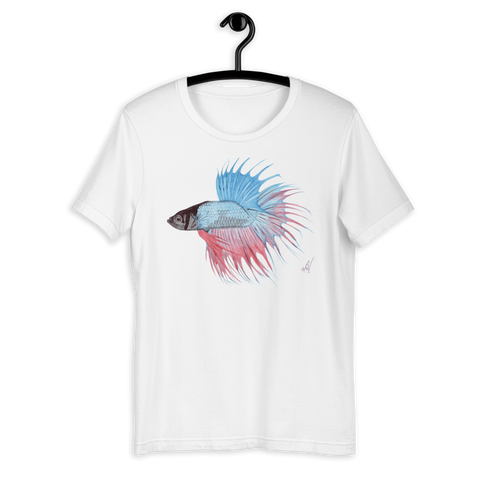 T-Shirt con Betta fish | Unisex