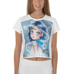 crystaleyeshop | Crop-top con Sailor Mercury | Crop top All-over
