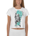 Immagine di Crop-top con La Catrina | Crop-top with The Catrina  Donna-Woman