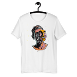 T-Shirt con Fake face | Donna