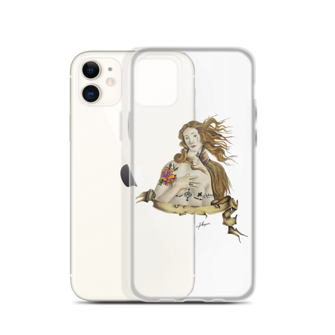 Immagine di Cover per iPhone con Venere | Subjective art LIMITED EDITION  Donna