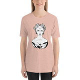 crystaleyeshop | T-shirt con Roman lady - T-shirt with Roman lady \ Donna-Woman | T-shirt