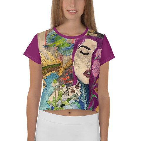 Immagine di Crop-top con Enchanted Forest | Donna