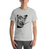 crystaleyeshop | T-shirt con ritratto di Dalì | T-shirt with Dalì's portrait \ Uomo-Man | T-shirt