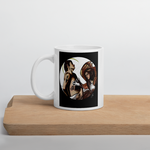 Tazza con San Sebastiano guarito da un angelo | Subjective art LIMITED EDITION \ Unisex
