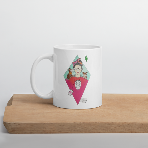 Tazza con Frida  | Subjective art LIMITED EDITION \ Donna