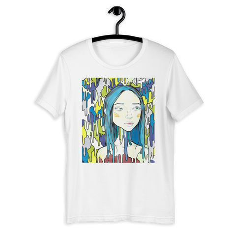 T-Shirt con Blue tears | Unisex