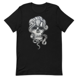 T-shirt con Teschio e Serpente | T-shirt with Skull and snake | Uomo-Man
