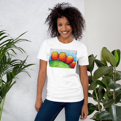 T-shirt con Fichi d'India | T-shirt with Prickly pears \ Donna-Woman
