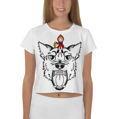 Immagine di Crop-top con Red riding hood | Donna