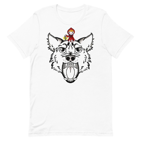 T-shirt con Red riding hood | Donna