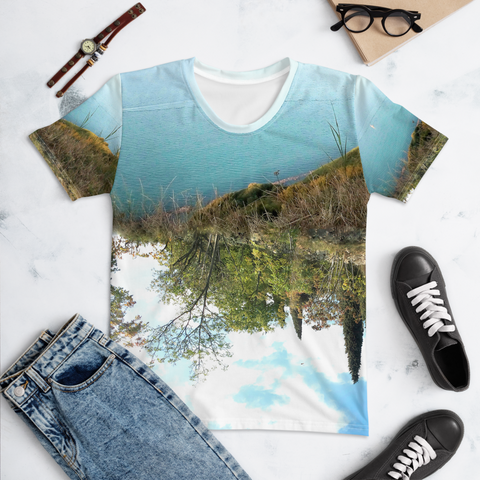T-shirt con I sea mountain | Unisex