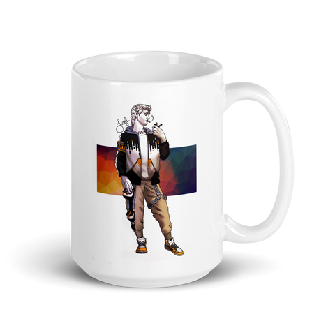 Cup with David | Subjective art LIMITED EDITION \ Man