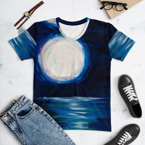 T-shirt con The moon | Unisex