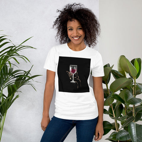 T-shirt con Bevo bugie | T-shirt with I drink lies \ Donna-Woman
