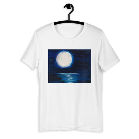 T-Shirt con The moon| Unisex
