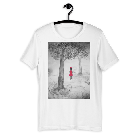 T-Shirt con Girl in the woods | Donna
