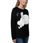 Immagine di Felpa semplice con Milkywaes | Sweatshirt with Milkywaes | Donna-Woman