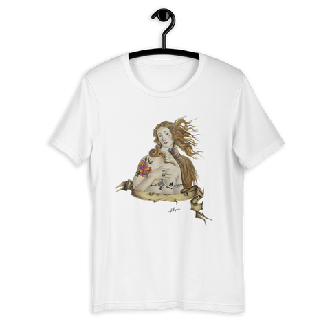 T-shirt con Venere | Subjective art LIMITED EDITION \ Donna