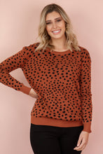 Load image into Gallery viewer, HUDSON Sweater - Rust Jumper Harte Style