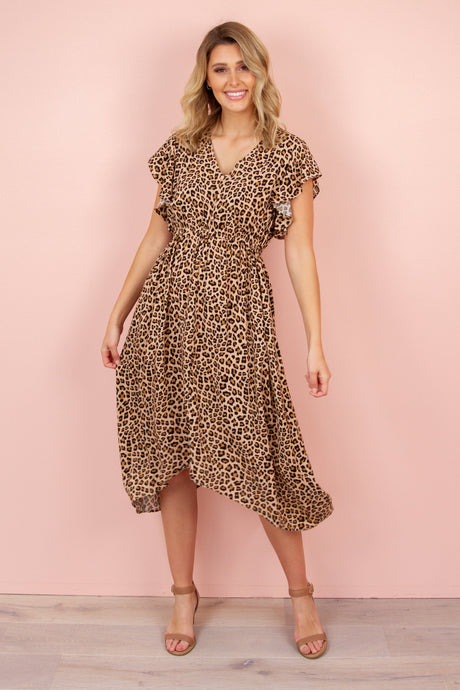 JEMMI Dress in leopard Dress Harte Style