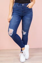 Load image into Gallery viewer, KIMMY Jeans in Ink denim Harte Style