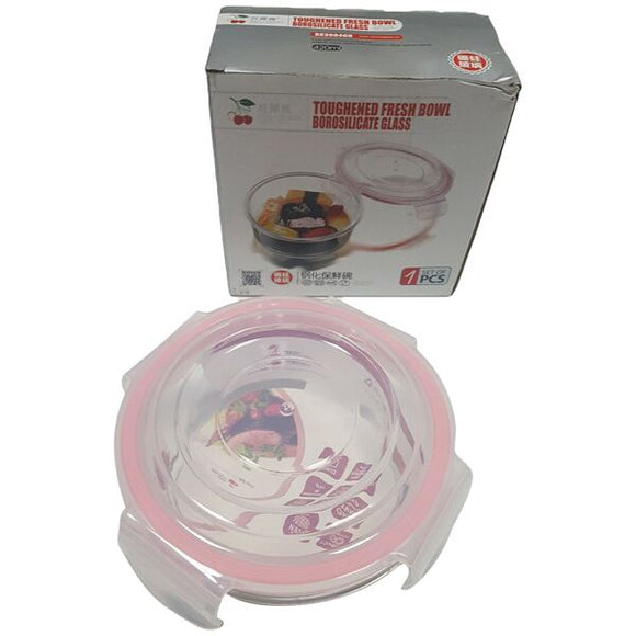BX3004 RD AIRTIGHT BOWL AND LID 420ML