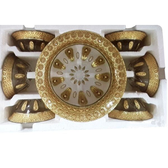 THICK GOLD 7PC BOWL SET