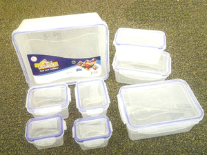 FOOD LOCK CONTAINER 8PC SET 82141-A (4500ML TO 200ML)