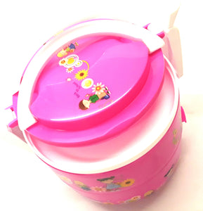 ROUND KIDDIES LUNCH BOX