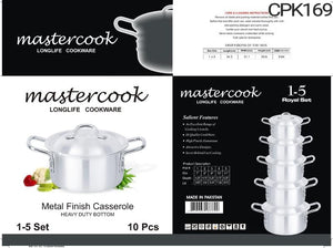 MASTERCOOK ROYAL SET 5-10 6PC