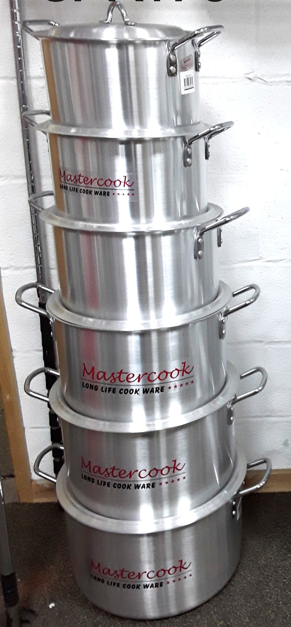 MASTERCOOK STOCK POT 5-10 6PC
