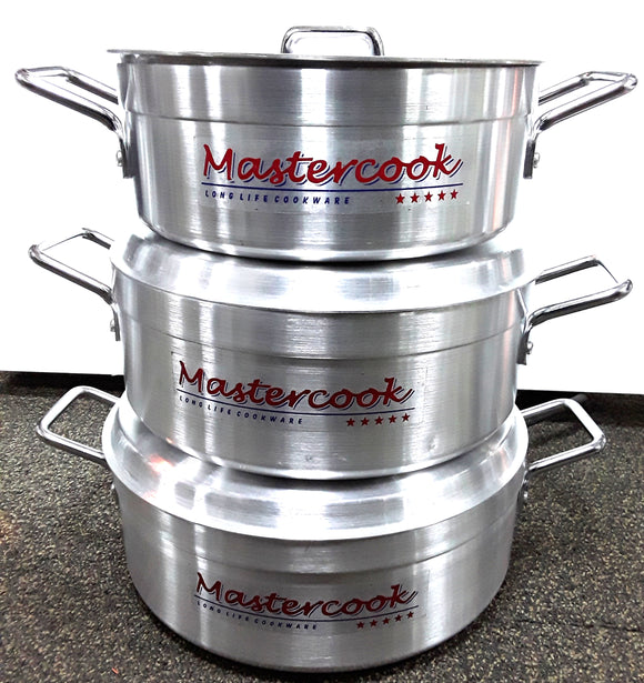 OUR MASTERCOOK BRAZING 28-32CM 3PC SET