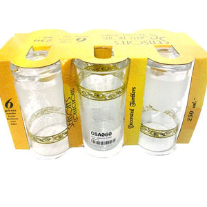 6PCS CARONIA GLASS