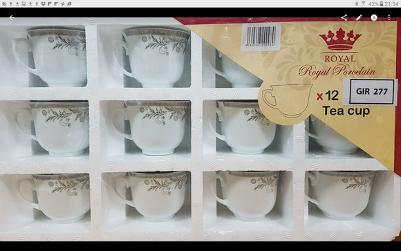 12PC LOOSE CUPS TIRAJEH 386