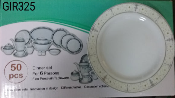 50PC DINNER SET SHAKILA 277