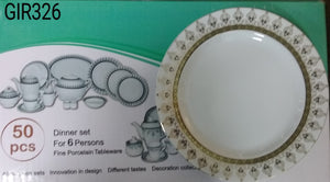 50PC DINNER SET 389 SERENA