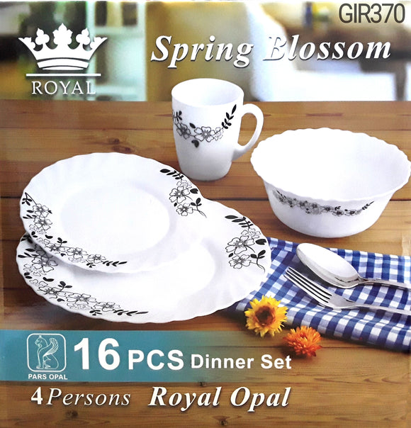 BLOSSOM 16PC DINNER SET