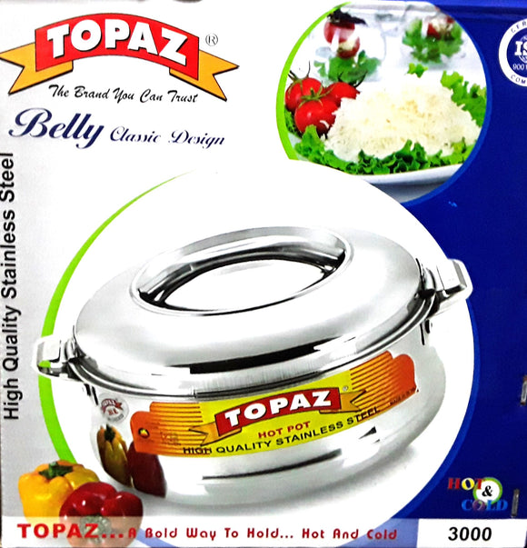 BELLY SS HOTPOT 3000ML