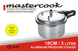 ALLIMINUIM PRESSURE COOKER INDUCTION BOTTOM