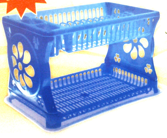 LUX DOUBLE DISH DRAINER