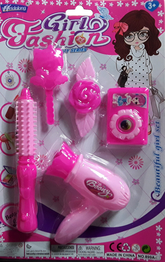 HAIRDRESS TOY SET