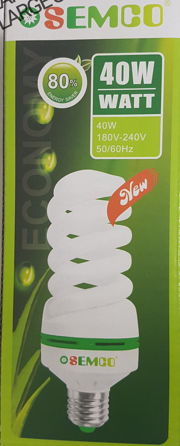 (11W & 40W)ENERGY SAVING BULB E27